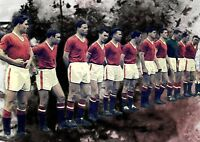 Manchester United  Legends Canvas Print A4