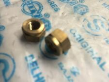 Lambretta Exhaust Nuts Brass LI SX TV GP