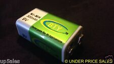 9v Rechargeable Batteries NIMH 300MaH AUSTRALIAN  QUICK POST BEST PRICE    M4X1#
