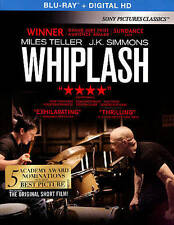 Whiplash (Blu-ray Disc, 2015, Includes Digital Copy UltraViolet) Brand New