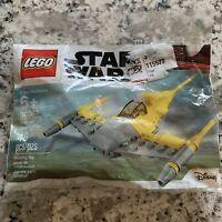 Lego Star Wars Naboo Starfighter Mini Polybag 30383 New Sealed