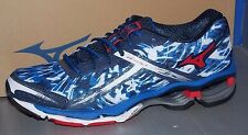 MENS MIZUNO WAVE CREATION 15 in colors BLUE / RED / BLACK SIZE 8.5
