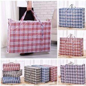 Reusable Laundry Storage Bag Shopping Bags Zipped Strong Jumbo Laundry Bag Bags.