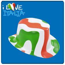Cilindro in plastica verde bianco rosso Italia