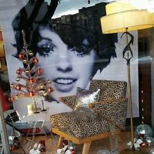 Fan Made Painting Liza Minnelli Shower Curtain  Gay Cabaret NYC Judy Garland