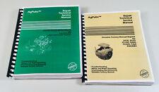 Technical Service Manual Set for John Deere 316 318 420 Lawn Garden Tractor Onan