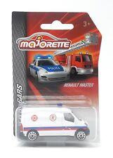 Majorette Poland Model Car metal DieCast SOS Cars Renault Master Ambulance 1/66