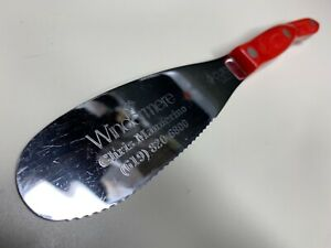 CUTCO RED Handle 1768 Spreader Spatula Knife Knives USA