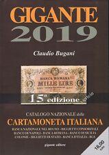 GIGANTE UN CATALOGO CARTAMONETA ITALIANA 2019