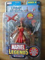 ToyBiz Marvel Legends Series IV Super Poseable ELEKTRA Figure Toy