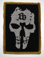 Böhse Onkelz - BO Skull Aufnäher / Patch (Totenkopf, BO Sammlung, Rocker Kutte)
