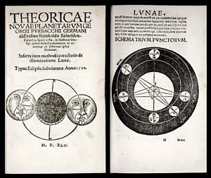 1542 Peuerbach NEW THEORIES OF PLANETS Reinhold ASTRONOMY Ptolemy * MELANCHTHON