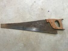 Antique Vintage Old Saw, Spear and Jackson Badged - Man Cave.