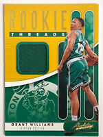 2019-20 ABSOLUTE MEMORABILIA ROOKIE THREADS JERSEY LEVEL 1 GRANT WILLIAMS RC