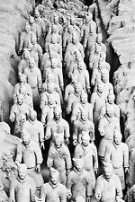 STUNNING TERRACOTTA ARMY WARRIORS CANVAS #678 QUALITY PICTURE WALL ART