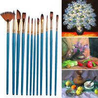 peinture à l'huile de broussailles poils de nylon aquarelle pen pinceau