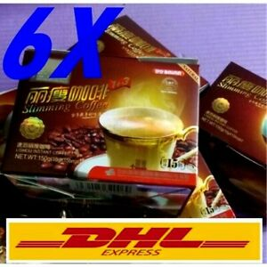 6x Natural Slimming Diet Drink Coffee Mix Weight Loss Thailand Li ho Coffee
