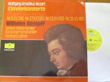2726 024 Mozart Piano Concertos / Kempff / Leitner / BPO / Bamberg SO 2 LP set