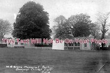 BR 11 - Downend Cricket Field W G Grace Memorial Pavilion, Bristol - 6x4 Photo