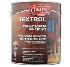 Owatrol Textrol 2 5ltr transparent Holzöl Gartenmöbelöl