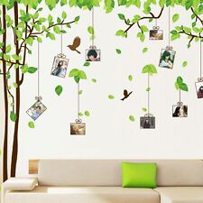 Tree Bird Photo Picture Frame Wall Sticker Kids Nursery Home Art Decor Mural