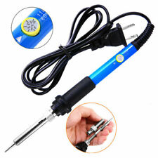 Electric Soldering Iron Gun Adjustable Temperature 60W Welding Tool Kit 110V Usa