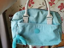 Turquoise/Light Blue Kipling Bag - Great Condition
