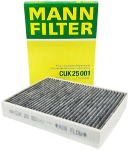 Mann Cabin Air Filter Activated Charcoal For BMW F22 F23 F30 F31 F32 F33 F34 F36