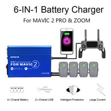 Battery Charger 6in1 Charging Hub Car Charging Adapter for DJI Mavic 2 Pro /Zoom