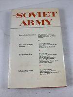 The Soviet Army Vladimir Talmy HB 1971 Printed In Soviet Union First Printing