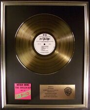 Sex Pistols Never Mind The Bollocks LP Gold Non RIAA Record Award Warner Bros
