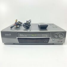 AKAI VS-G875 VHS-VCR Player 6 Head Hi-Fi Remote + Cables - Tested and WORKING!