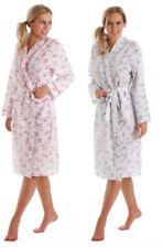 Knielange Damen-aus Baumwolle mit Bademantel