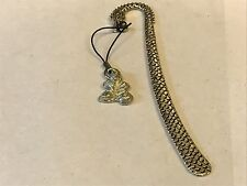 Leaf TG193 Fine English Pewter On A DRAGON Bookmark