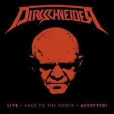 Dirkschneider - Live - BACK TO THE ROOTS - ACCEPTED! (Blu-Ray + 2 Cd) NUEVO 3x