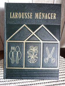 Larousse Ménager 1955 maison cuisine jardinage ménage déco vintage