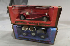 Matchbox BOXED 1934 Riley MPH 1914 Prince Henry Vauxhall