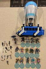 Fortnite Battle Bus and 15 Battle Royale Figures with Accessories