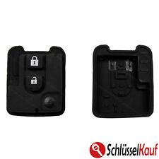 Nissan Autoschlüssel 2 Tasten Tastenfeld Gummitaste Pad Micra Patrol Qashqai NEU