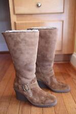 nwob UGG Australia # 5595 Seline Chestnut Wedge Boots size 6 (BO500