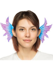 Supersoft Blue Faerie Sprite Ears Headband Costume Accessory