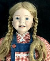 29 inches Porcelain Doll by Donna Rubert
