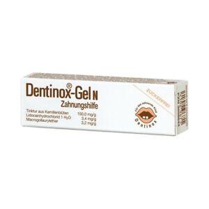 Dentinox-Gel N (dentinox) baby teething relief gel -Sugar free-10g-FREE SHIPPING