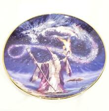 Franklin Mint Sorcerers Spell by Myles Pinkney Collectors Dragon Plate