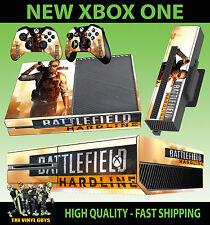 Xbox One Console Autocollant Champ de Bataille Hardline 01 Fusil Chasse Style