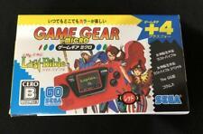 Sega Game Gear Micro Mini Rot 4 Sammlung Spiele Vorgeladen Japan