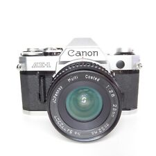 MINT Canon AE-1 Standard 35mm Film Manual Camera (Kit w/ 28mm f/2.8 Lens)