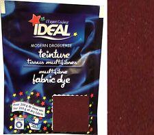 TEINTURE IDEAL TEXTILE TISSU VETEMENT HAVANE 41 MARRON coton lin laine polyamide