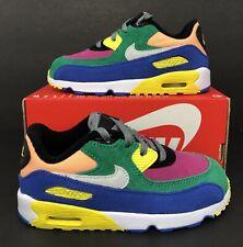 Nike Air Max 90 QS TD 'Viotech 2.0' Toddler Sneakers CJ0935-300 Size 10C