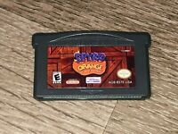 Spyro Orange The Cortex Conspiracy Nintendo Game Boy Advance GBA